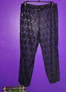 Asos Black Lace Swim Pant (Plus)